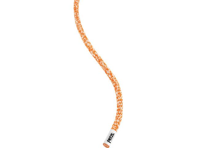 Petzl Rad - Corde d'escalade - 6mm x 60m orange/blanc